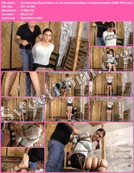 BrendasBound.com Introducing-Hazel-Allure-In-An-Agonizing-Elbow-Crushing-Hogtie-3000-MP4 Thumbnail